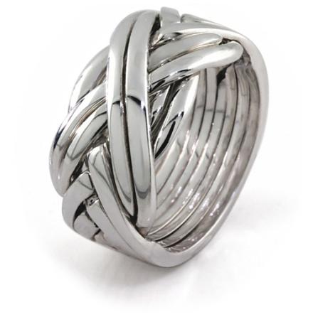 Silverring i 8 delar