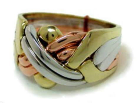 Guldring i 6 delar